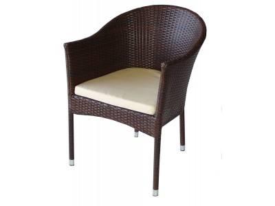 Външен стол кресло 350 с възглавница