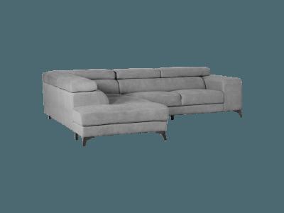 Ъглов диван с регулируеми подглавници Aida