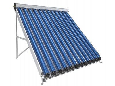 Вакуумно-тръбен слънчев колектор, 12 тръби