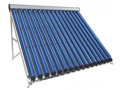 Вакуумно-тръбен слънчев колектор, 16 тръби