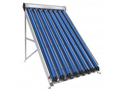 Вакуумно-тръбен слънчев колектор, 8 тръби