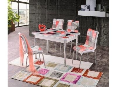 Комплект разтегателна маса с 4 стола Dilara I