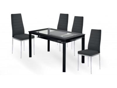 Трапезен комплект маса Evan с 4 стола K70