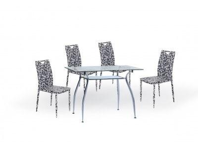 Трапезен комплект маса Finno с 4 стола K200