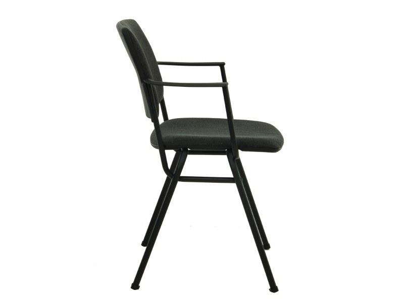 Посетителски стол Isit Arm Black