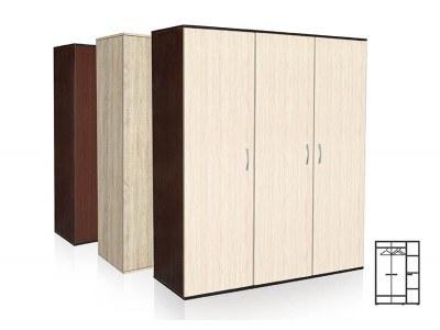 Трикрилен гардероб Вено 3
