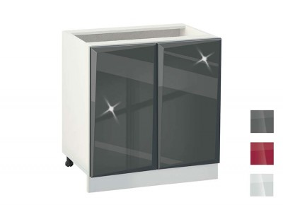 Кухненски шкаф Гланц 802 с рафт