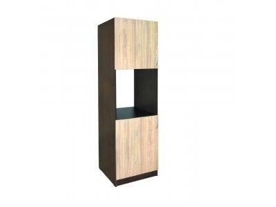 Висок шкаф за фурна 602 Ф с рафтове