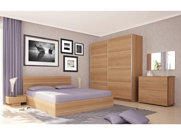 Спален комплект Камо/череша марбела