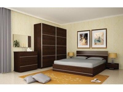 Спален комплект Камо/венге
