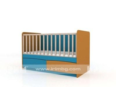 Детско креватче Бибо