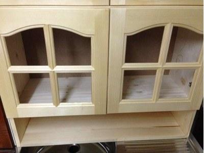 Шкаф горен с рафт и две вратички