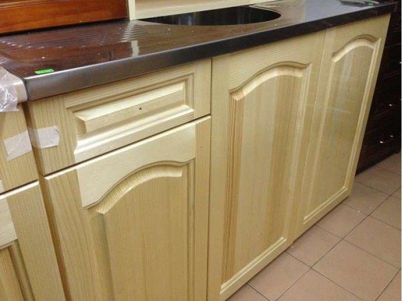 Долен шкаф с мивка, централно корито