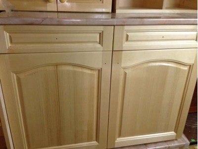 Долен шкаф с термоплот, врати и чекмеджета