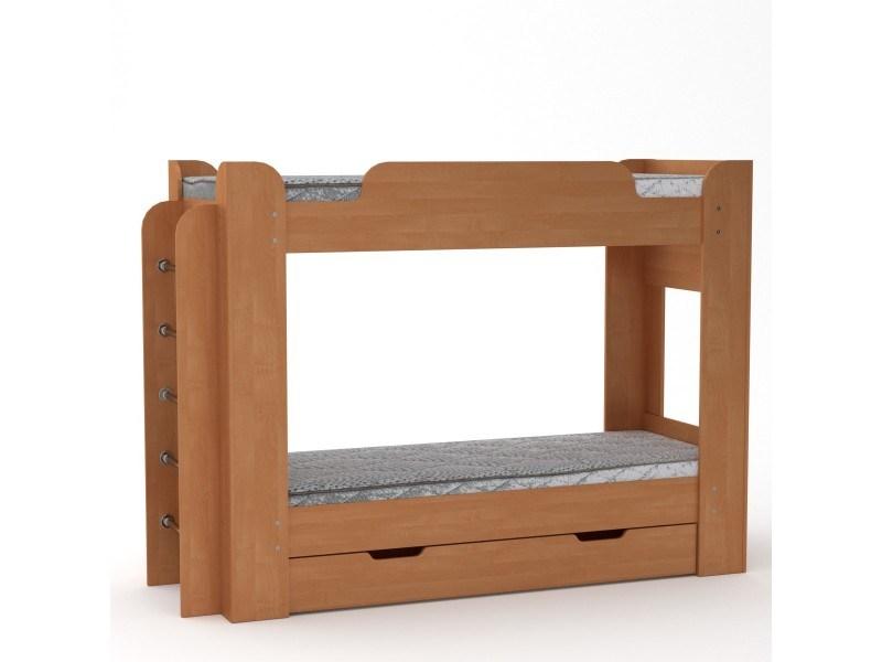 Двуетажно легло Компанит Твикс