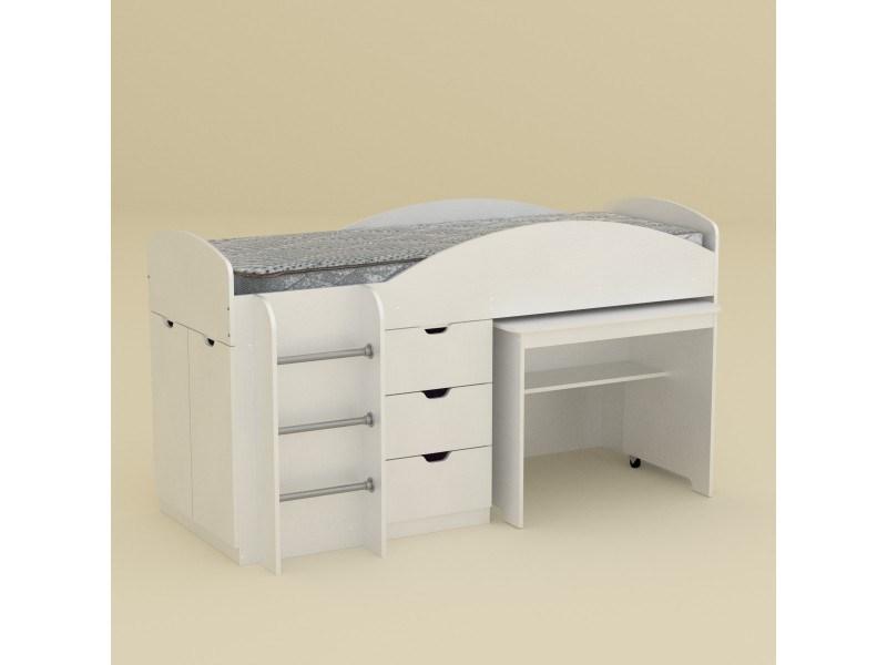 Двуетажно легло Компанит Универсал