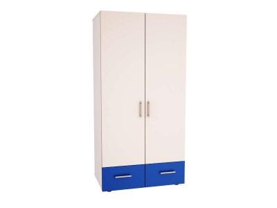 Двукрилен гардероб Ивко