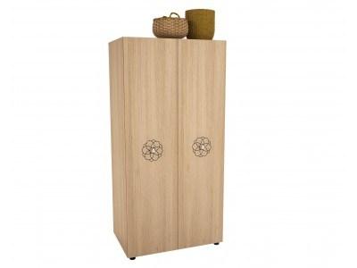 Двукрилен гардероб Кармела