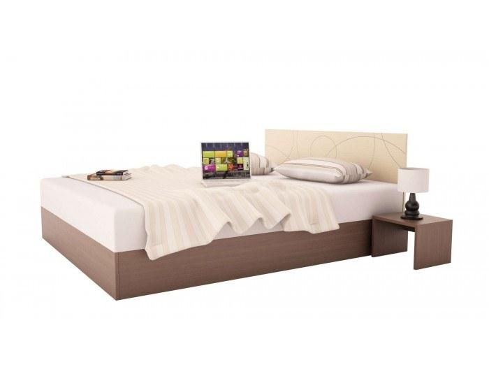 Легло с табла и нощни шкафчета Компакт