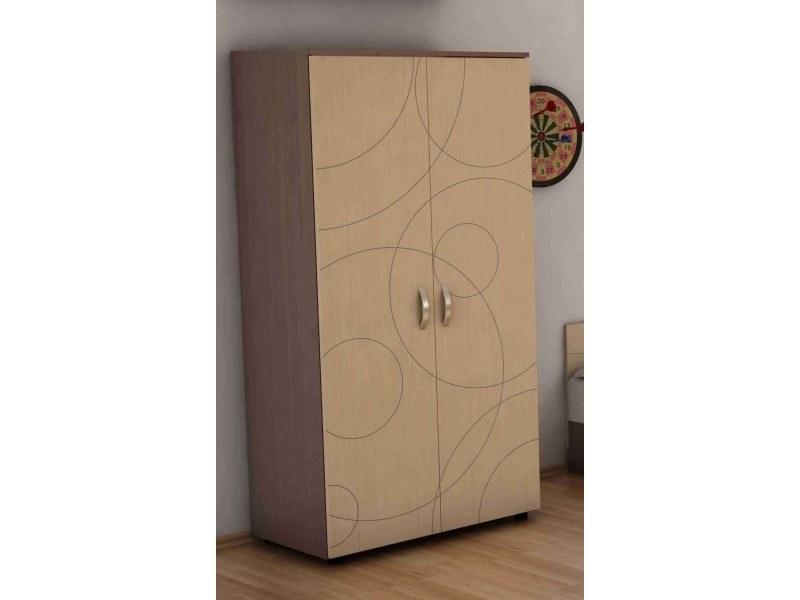 Двукрилен гардероб Компакт