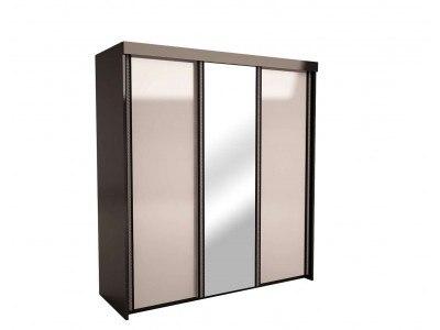 Трикрилен гардероб с плъзгащи врати Версай