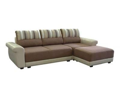 Тройка диван разтегателен с ракла и табуретка Лилия