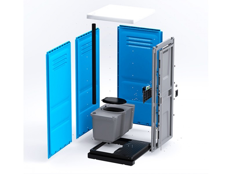 Тоалетна кабина Toypek