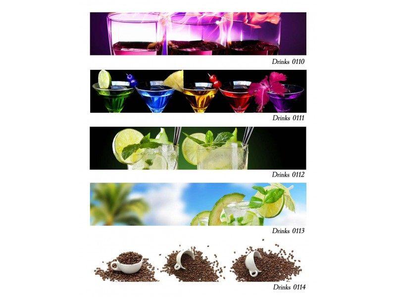Декоративен принт гръб Drinks