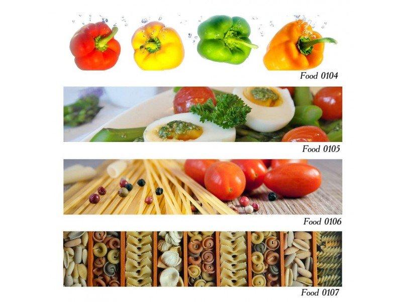 Декоративен принт гръб Food