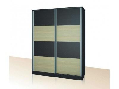 Двукрилен гардероб с плъзгащи врати Примо 17