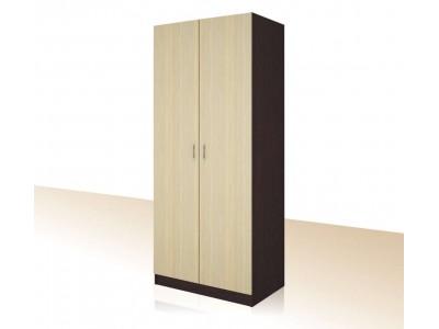 Двукрилен гардероб с 3бр. рафтове Примо 8