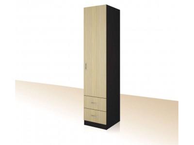 Еднокрилен гардероб с чекмеджета Примо 4